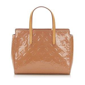 Louis Vuitton Torebka podręczna beżowy Imitacja skóra