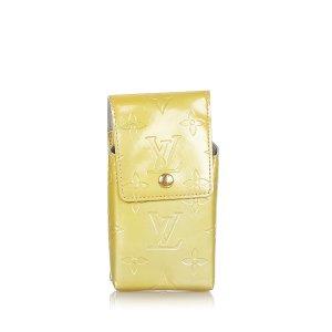 Louis Vuitton Minibolso beige Imitación de cuero