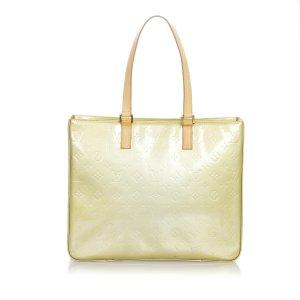 Louis Vuitton Bolso de compra beige Imitación de cuero