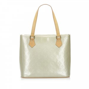 Louis Vuitton Tote pale green imitation leather