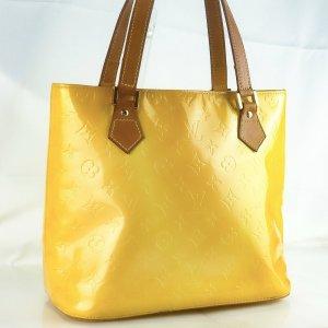 Louis Vuitton Sac bandoulière jaune cuir