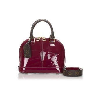 Louis Vuitton Vernis Miroir Alma BB