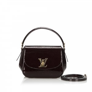 Louis Vuitton Crossbody bag red imitation leather