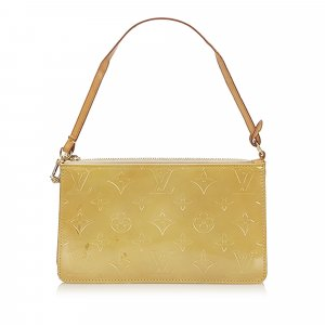 Louis Vuitton Handbag yellow imitation leather
