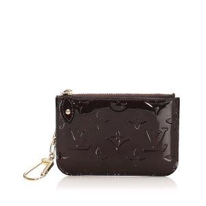 Louis Vuitton Etui na klucze jasny fiolet Imitacja skóra