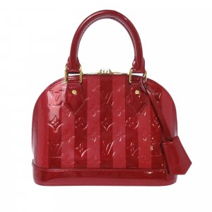 Louis Vuitton Vernis Rayures Alma BB