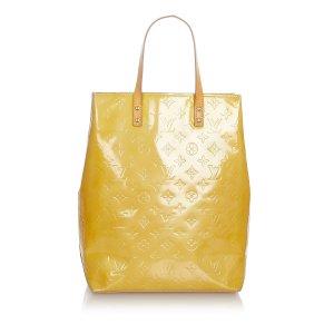 Louis Vuitton Sac à main beige faux cuir