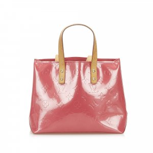 Louis Vuitton Handbag pink imitation leather