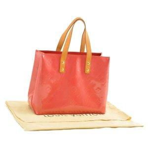 Louis Vuitton Handtas oranje Leer