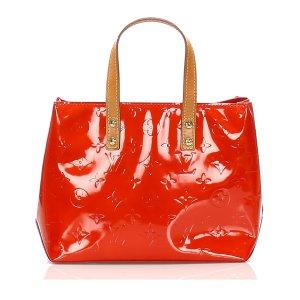 Louis Vuitton Borsetta rosso Finta pelle