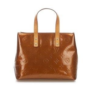 Louis Vuitton Torebka podręczna brązowy Imitacja skóra