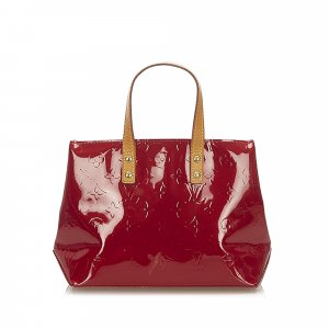 Louis Vuitton Handbag red imitation leather
