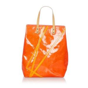 Louis Vuitton Bolso naranja Imitación de cuero
