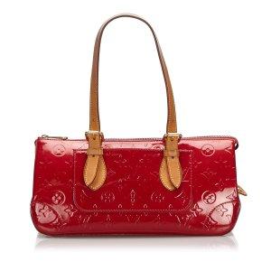 Louis Vuitton Bolsa de hombro rojo Imitación de cuero