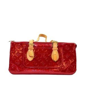 Louis Vuitton Shoulder Bag red imitation leather
