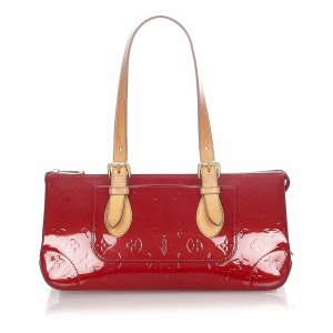 Louis Vuitton Torba na ramię czerwony Imitacja skóra