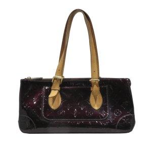 Louis Vuitton Bolsa de hombro púrpura Imitación de cuero