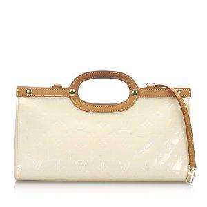 Louis Vuitton Satchel white imitation leather