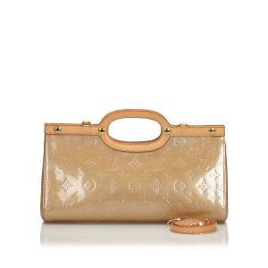 Louis Vuitton Cartella beige Finta pelle