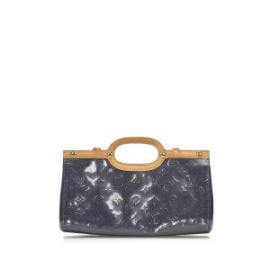 Louis Vuitton Sacoche violet faux cuir