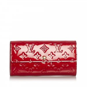 Louis Vuitton Vernis Sarah Wallet
