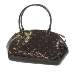 Louis Vuitton Handbag purple imitation leather