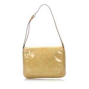 Louis Vuitton Shoulder Bag beige imitation leather
