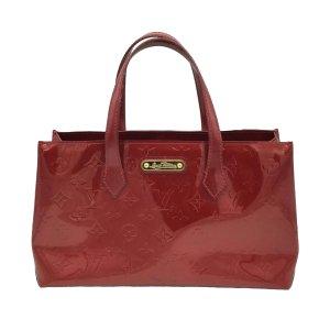 Louis Vuitton Handbag red imitation leather