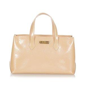 Louis Vuitton Sac fourre-tout rose clair faux cuir