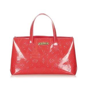 Louis Vuitton Torebka podręczna czerwony Imitacja skóra