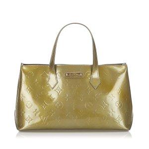Louis Vuitton Sac à main brun faux cuir