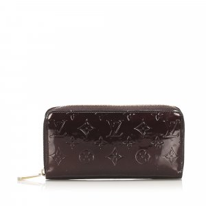 Louis Vuitton Vernis Zippy Long Wallet
