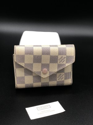 Louis Vuitton Victorine damier Azur mit Rechnung