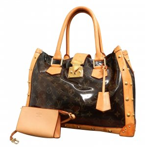 Louis Vuitton Vinyl Neo Cabas Ambre MM