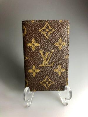 Louis Vuitton Tarjetero marrón-negro-marrón arena