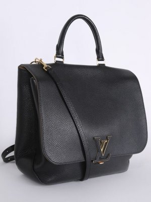 LOUIS VUITTON Volta Leather Bag Noir