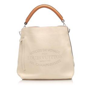 Louis Vuitton Voyage Bagatelle Leather Satchel