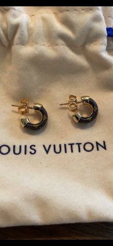 Louis Vuitton Ear Hoops bronze-colored-gold-colored
