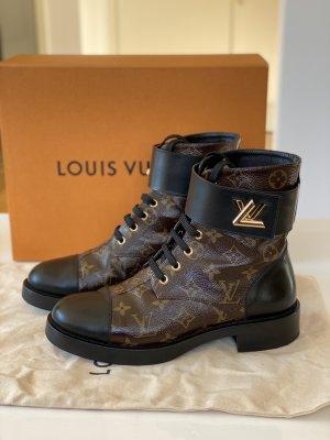 LOUIS VUITTON Wonderland Flat Ranger Boots