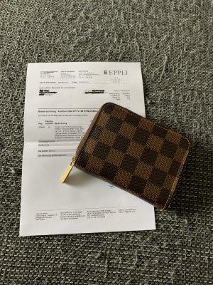 Louis Vuitton Zipoy coin Geldbörse Portemonnaie daimer Ebene