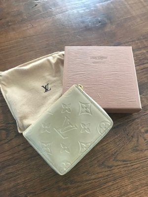 Louis Vuitton Zippi Vernis Beige Lackleder