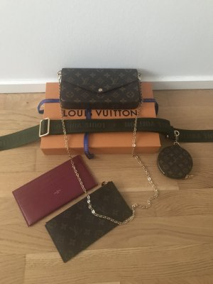 Louis Vuitton Crossbody bag multicolored mixture fibre