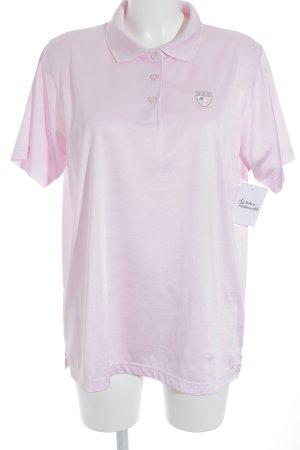 Louisa di Capi Shirt met korte mouwen lichtroze zakelijke stijl