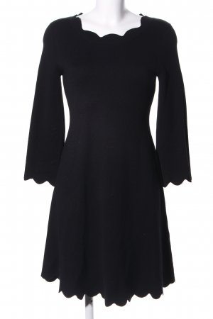 Louise Orop (Langarmkleid) schwarz, elegant