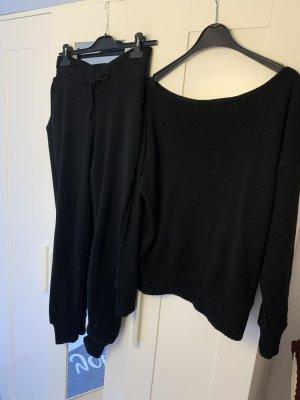 Bohoo Leisure suit black