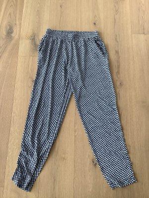 no man's land Sweat Pants steel blue-white