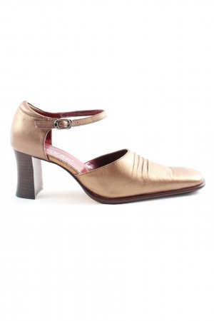 louvre High Heels bronzefarben Casual-Look