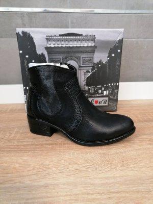 Lov'it Stiefelette Boots schwarz neu 36