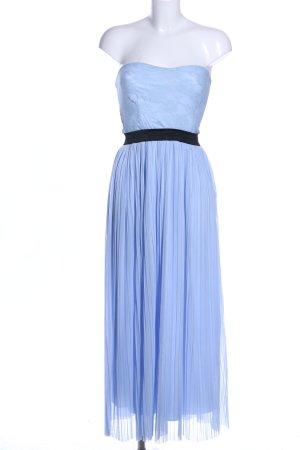 Love Bandeaukleid blau Elegant