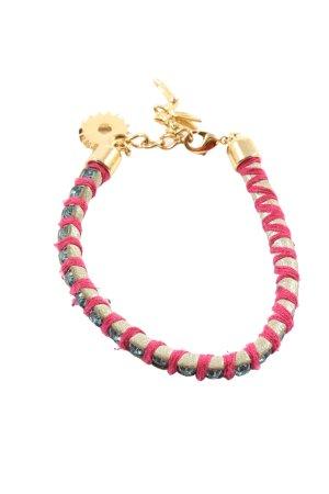 love disney couture Bracelet rose-doré style décontracté